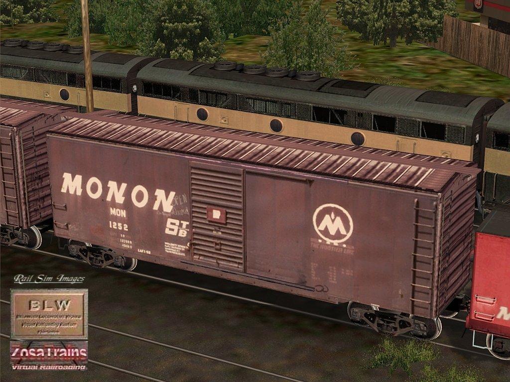 MSTS Route MONON-2 Download