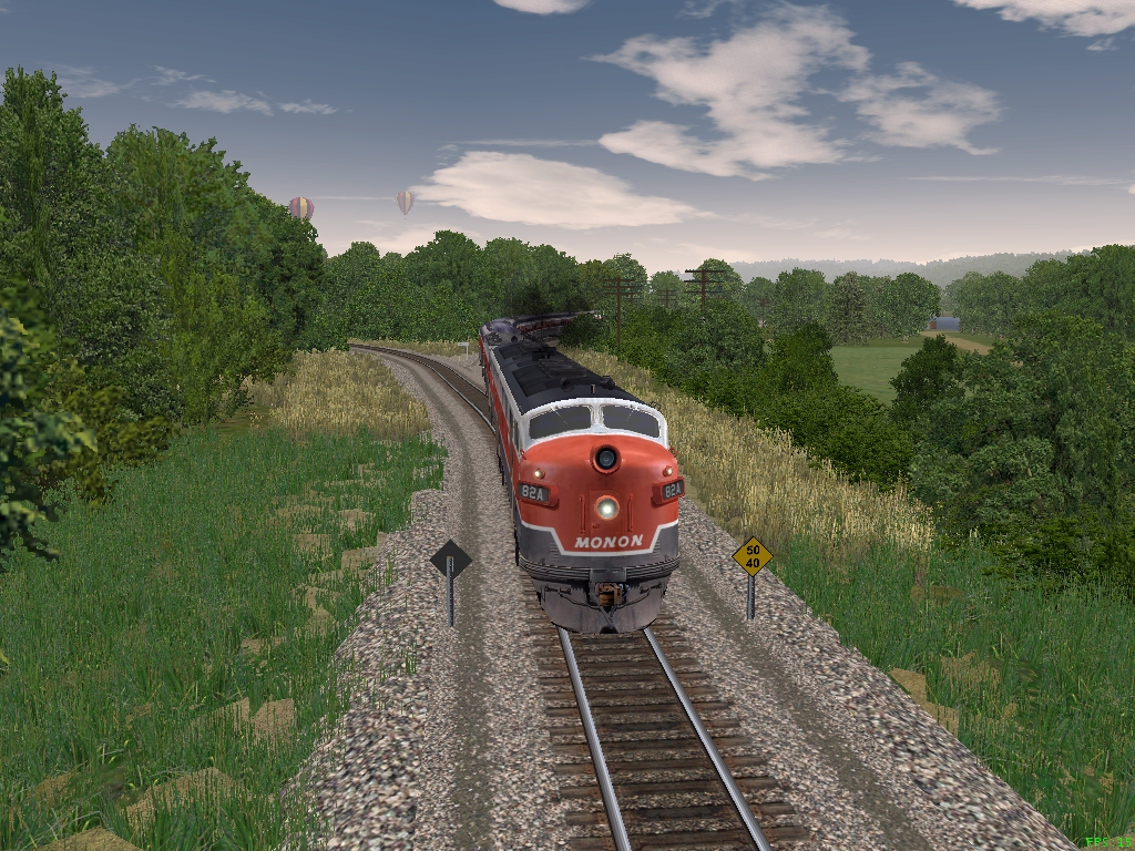 MSTS Route MONON-2 Download